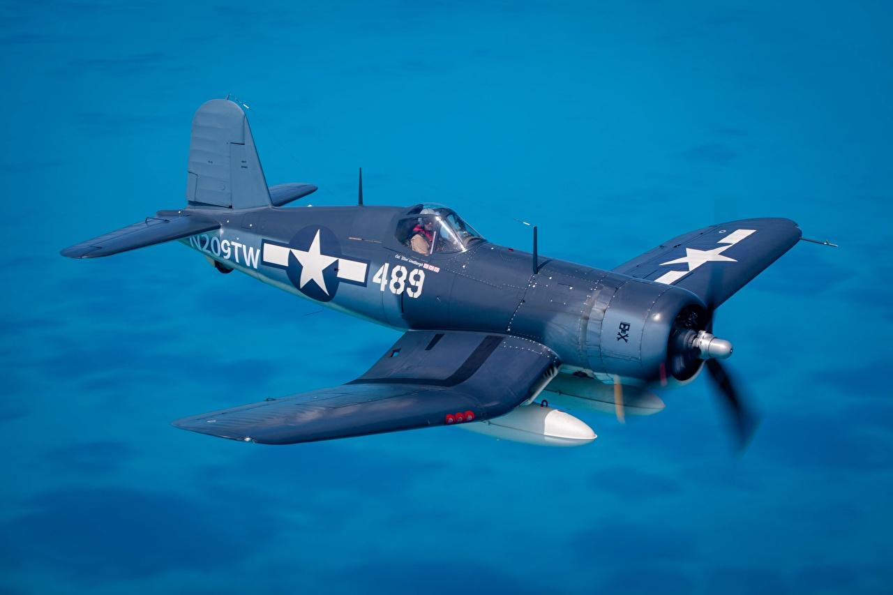 壁紙 戦闘機 飛行機 Chance Vought F4u Corsair 飛翔 アメリカの 航空 ダウンロード 写真