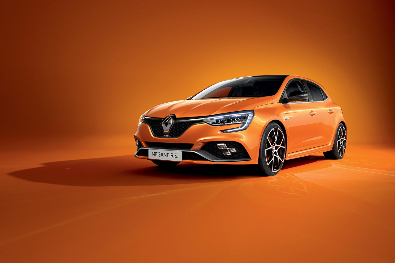 Pictures Renault Megane R S Trophy 2020 Orange Auto Metallic Hd wallpaper renault megane orange car