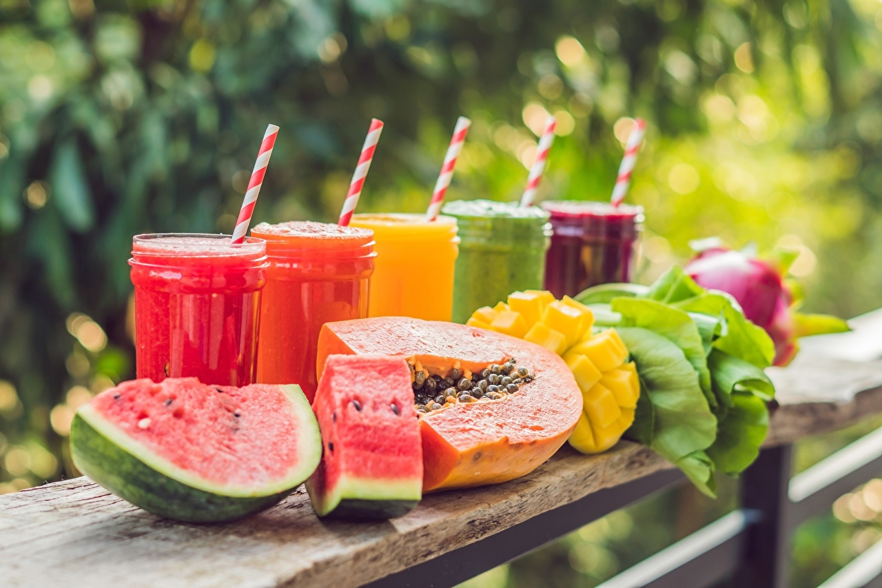Picture smoothy Watermelons Food Smoothie