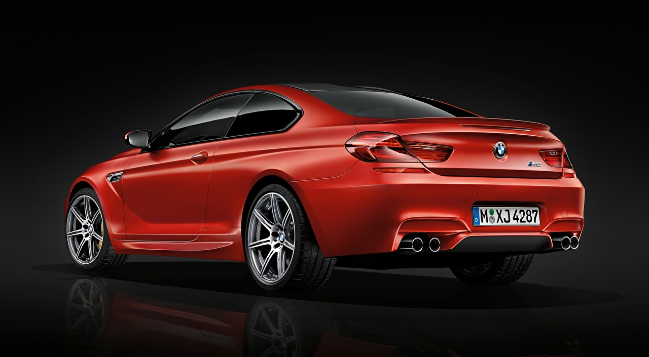 Desktop Wallpapers BMW M6 Coupe, Competition Package, 2015 Coupe Red Metallic automobile Cars auto