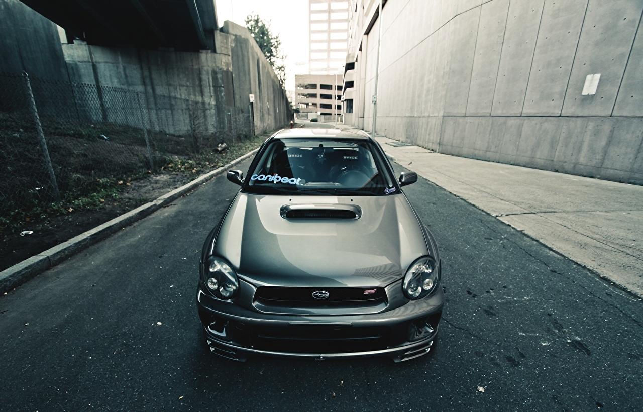 壁紙 スバル Wrx Sti 正面図 自動車 ダウンロード 写真