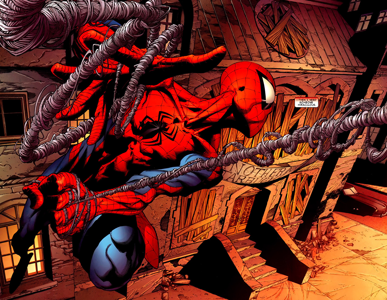 Tapety superbohaterów Spider-Man superbohater Fantasy Bohaterowie komiksów