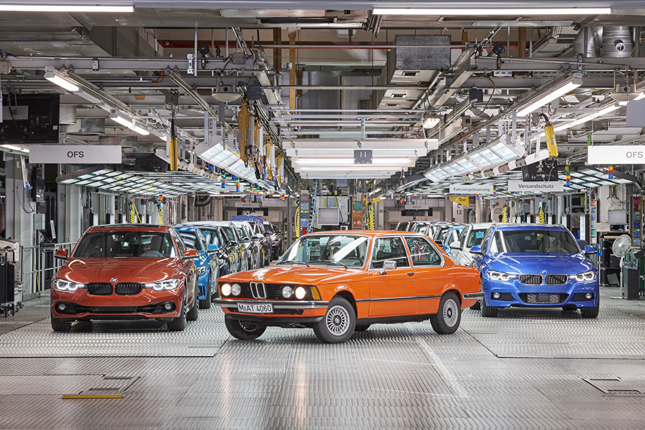 Pictures BMW 1975-2017 3 Series Factory Metallic automobile Cars auto