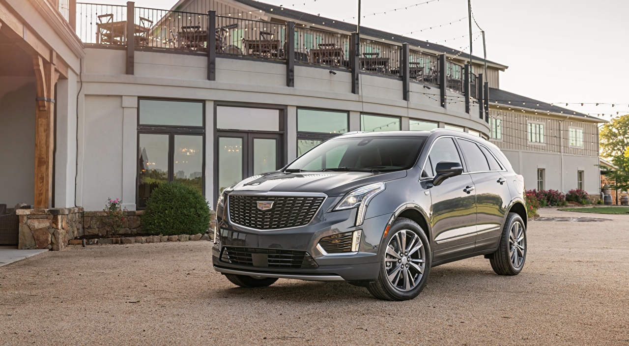 Photo Cadillac CUV XT5, Premium Luxury, 2019 Grey automobile Crossover gray Cars auto