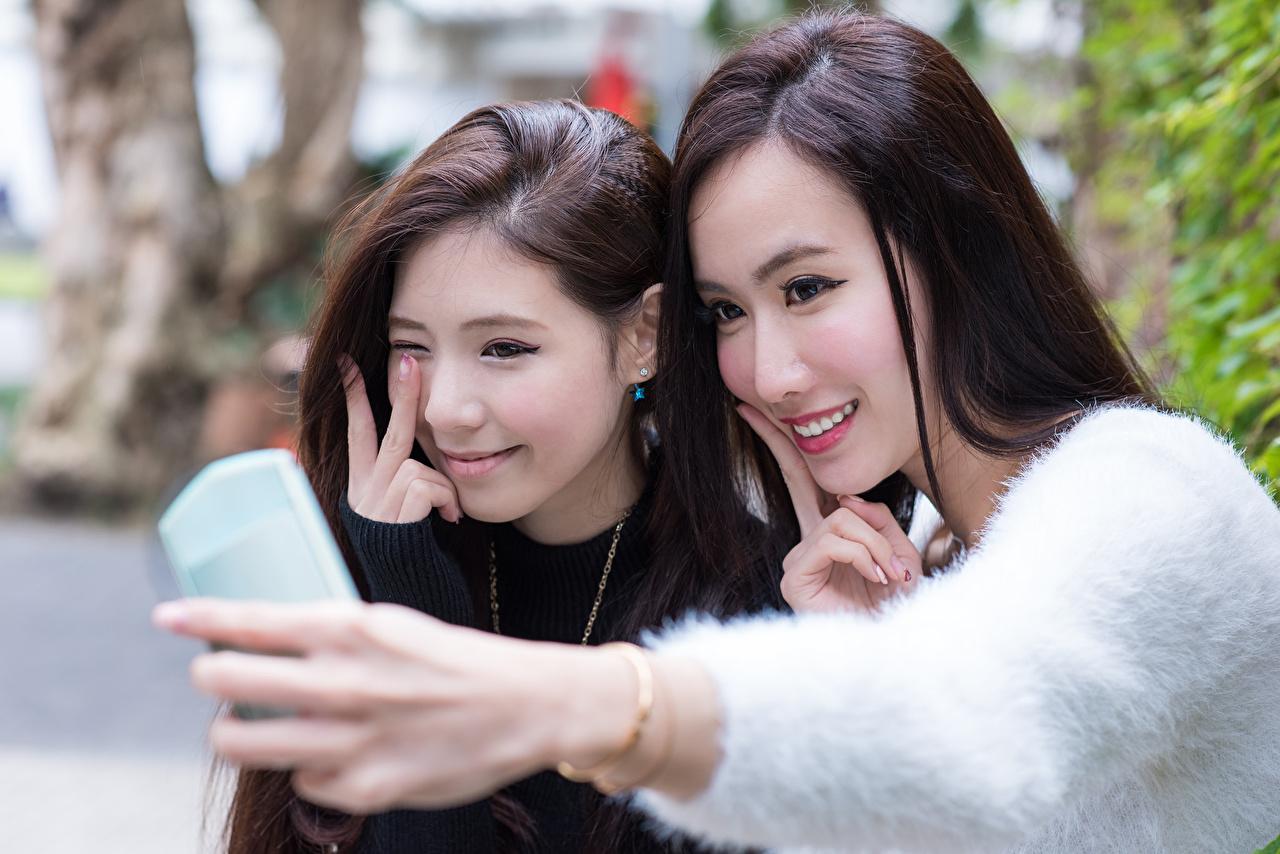 Schöne Asiaten