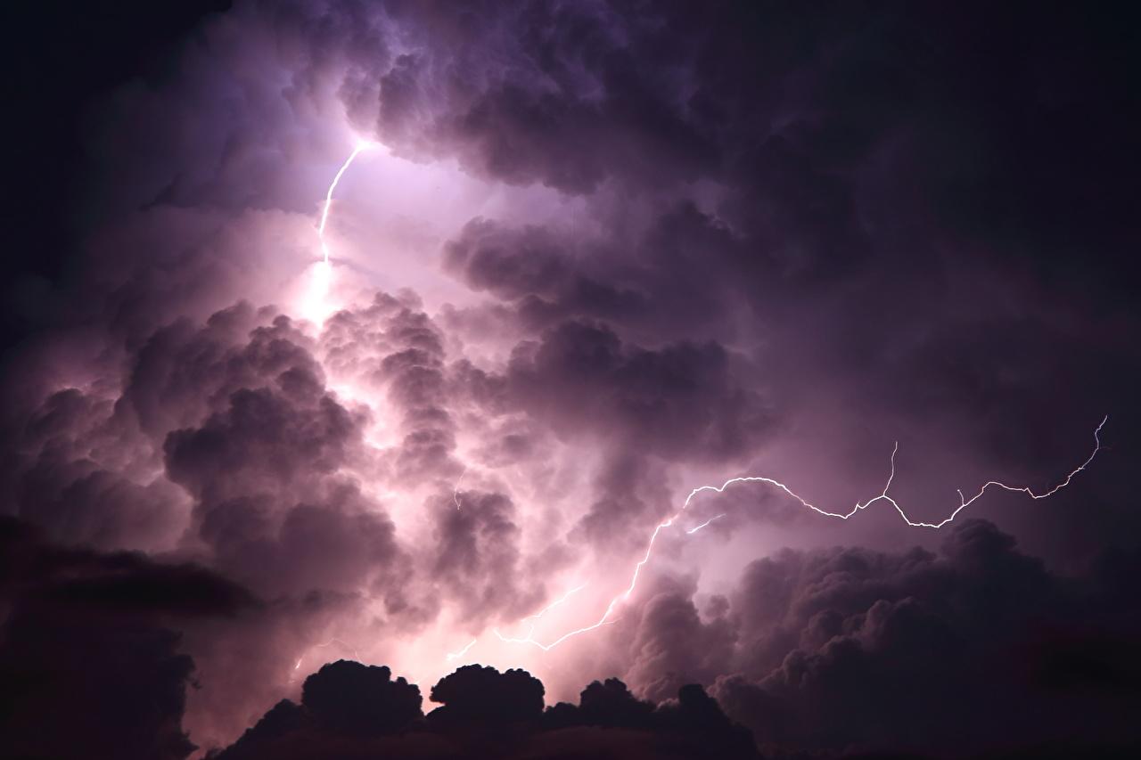 Bilder von Blitze Natur Himmel Nacht Wolke Blitz