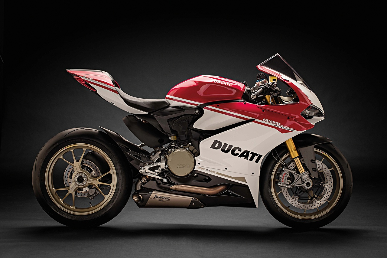 Fonds D Ecran Ducati 2016 1299 Panigale S Anniversario Lateralement Motocyclette Telecharger Photo