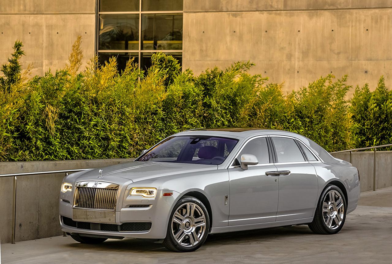 Rolls-Royce 2015 Ghost Metálico Luxo carro, automóvel, automóveis, caro, caros Carros