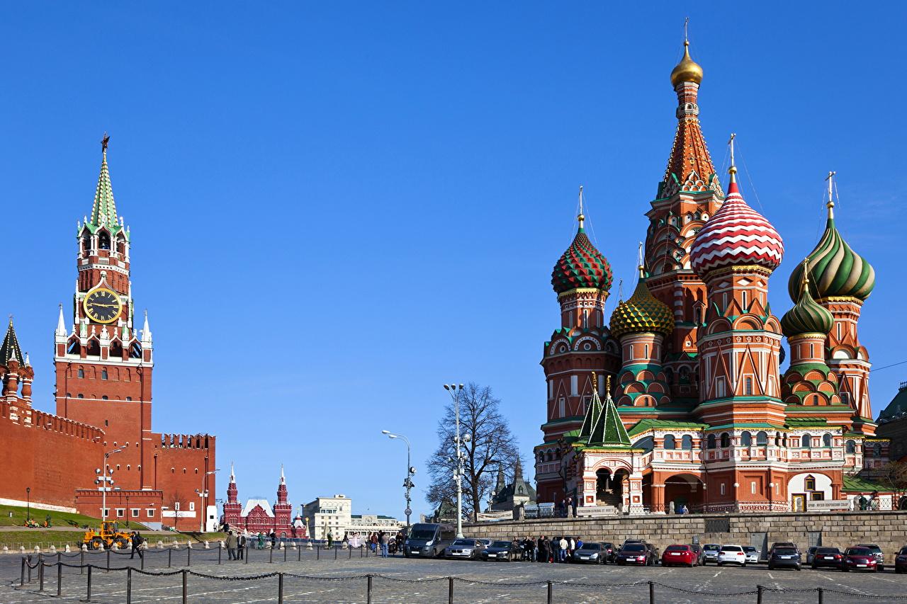 Обои храм василия блаженного, россия, moscow, мск. Города foto 16