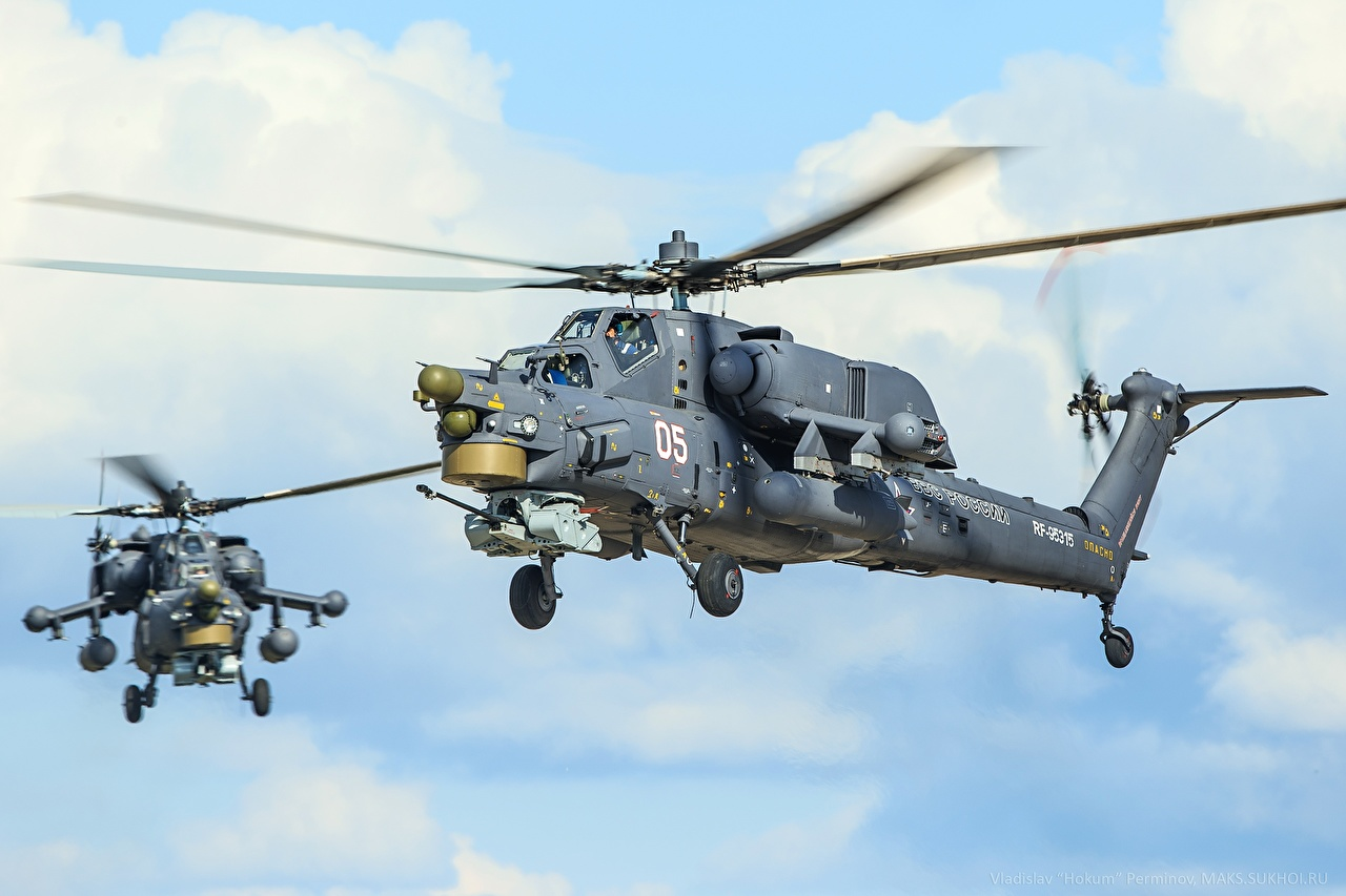 Picture Helicopters Russian Mi-28N Aviation helicopter