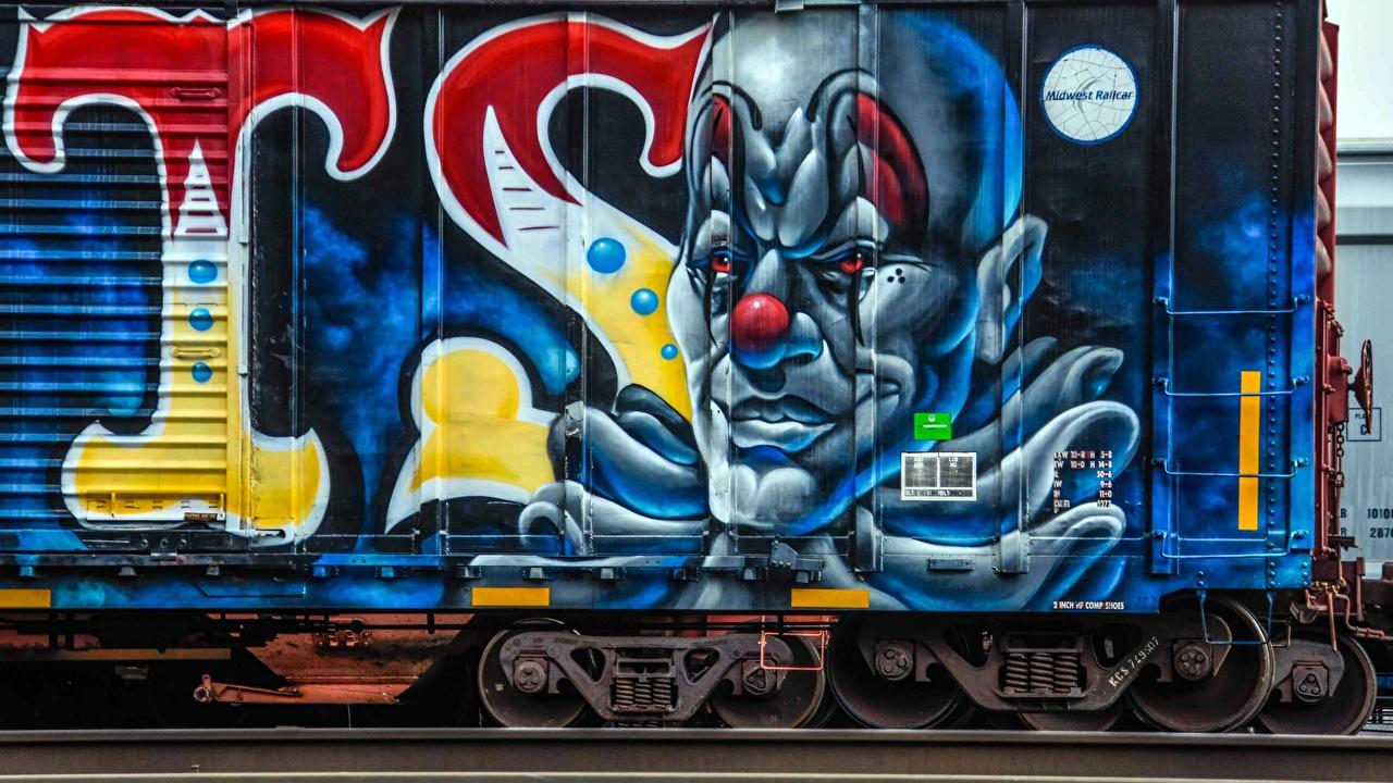 Desktop Hintergrundbilder Graffiti Gezeichnet