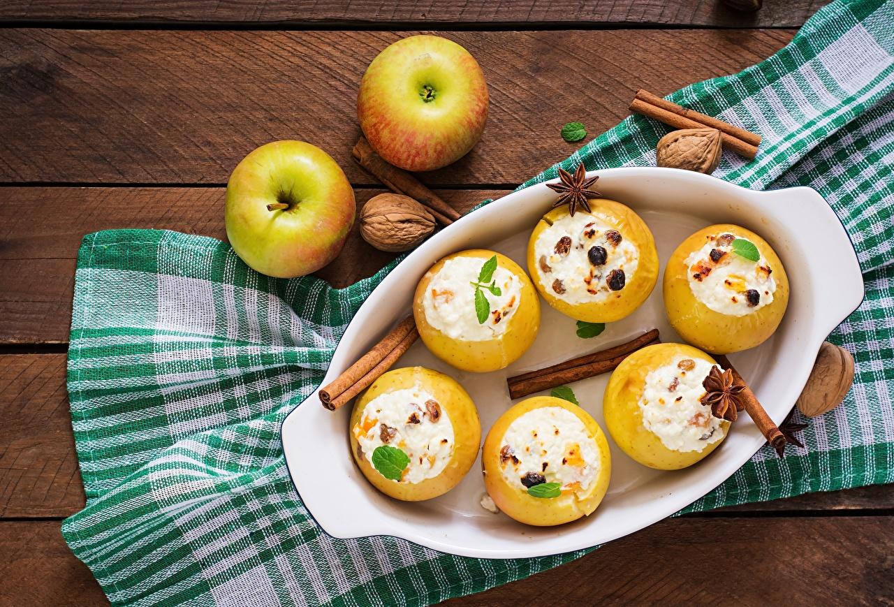 Image Apples Dessert Cinnamon Food