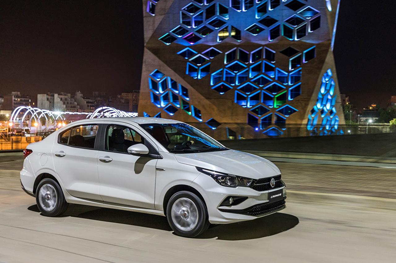 Hintergrundbilder Fiat 2018 Cronos Drive Autos