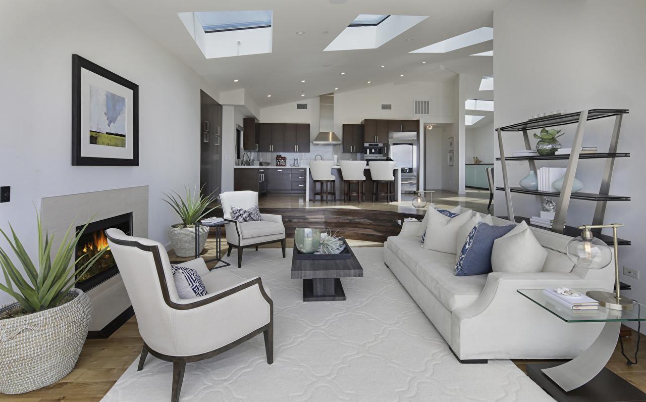 Desktop Wallpapers Living Room Interior Sofa Wing Chair Design