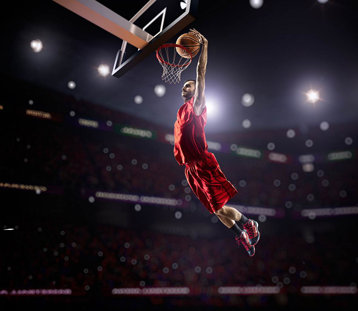 壁紙 バスケットボール 男性 飛び スポーツボール 制服 スポーツ
