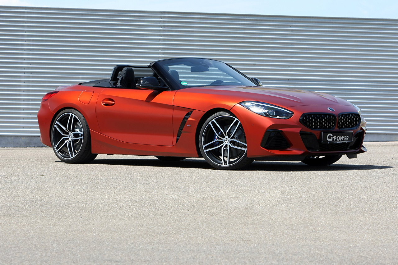 Image BMW BMW Z4 2019 G-Power Z4 M40i Convertible auto Cabriolet Cars automobile