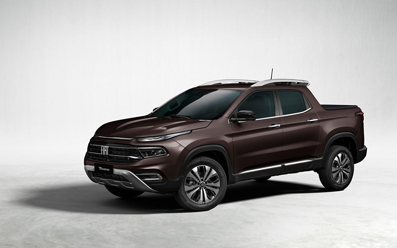 Fiat Toro Volcano (226), 2021 Pick-up Brun Métallique voiture, automobile, marron, brunes, Pickup Voitures