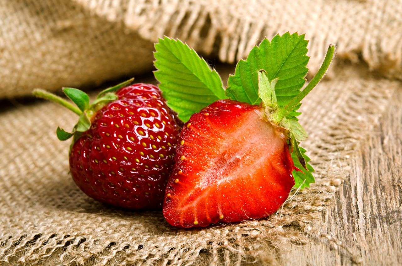 Picture 2 Strawberry Food Closeup Two