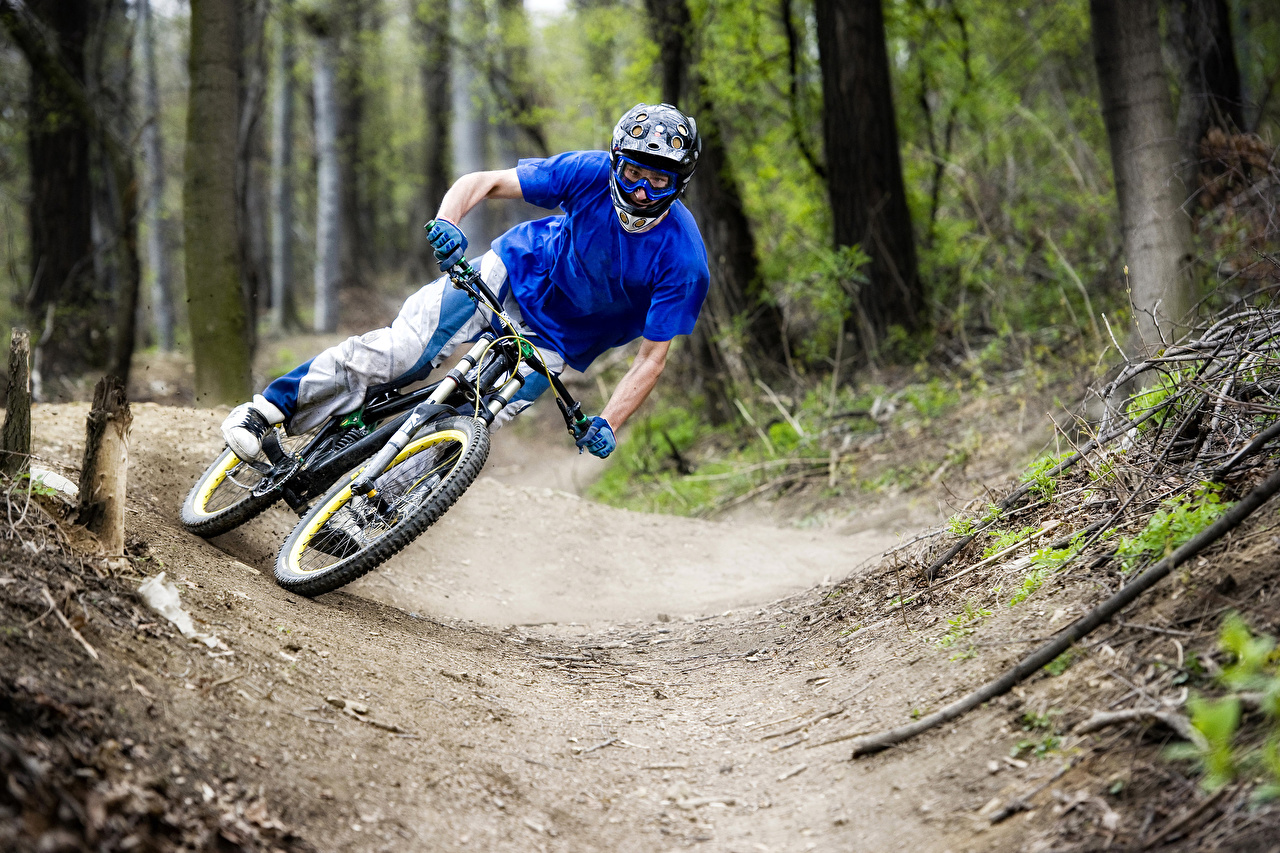 Papeis de parede Bicicleta Salto Desporto baixar imagens
