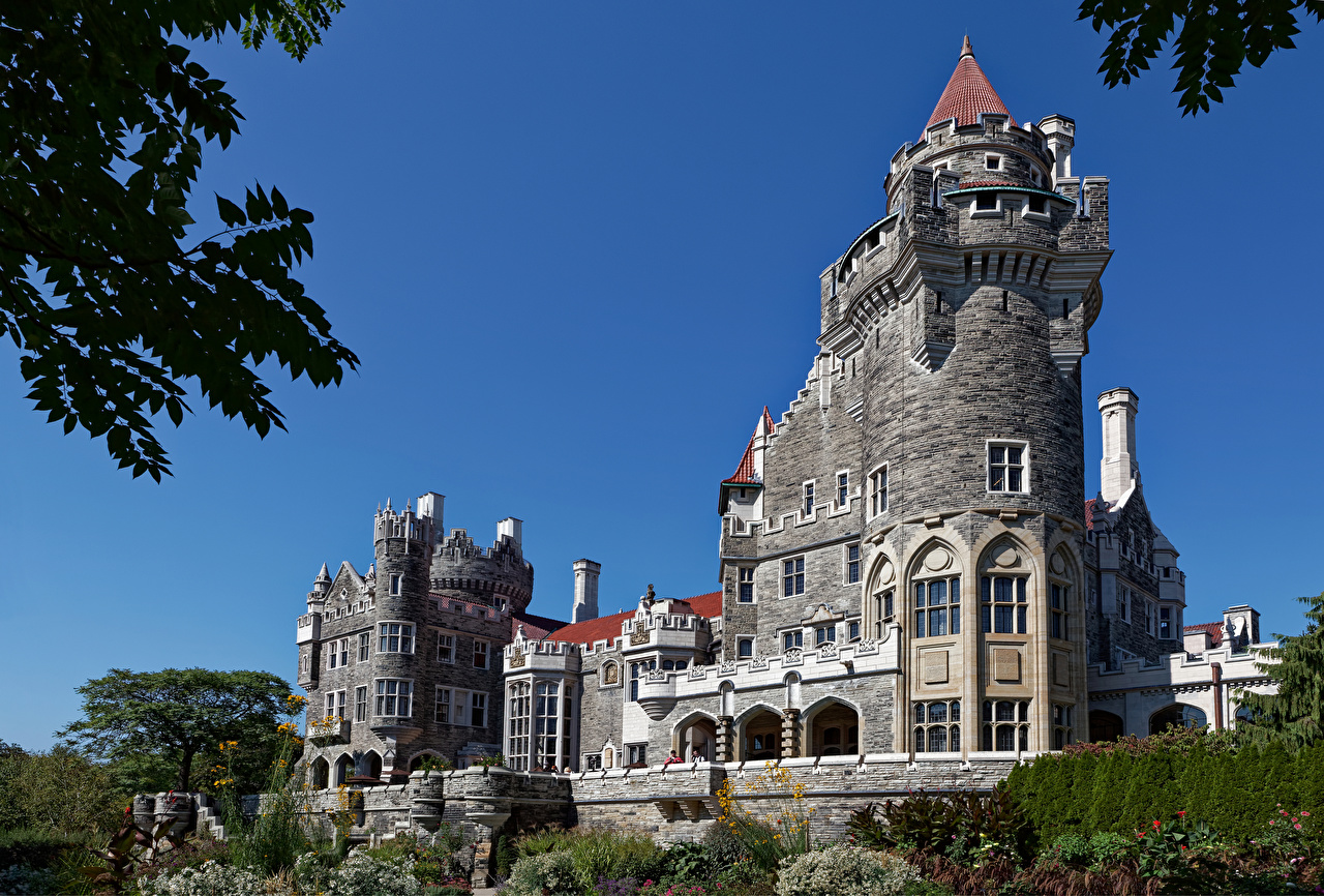 Images Toronto Canada Tower Casa Loma castle Cities towers Castles