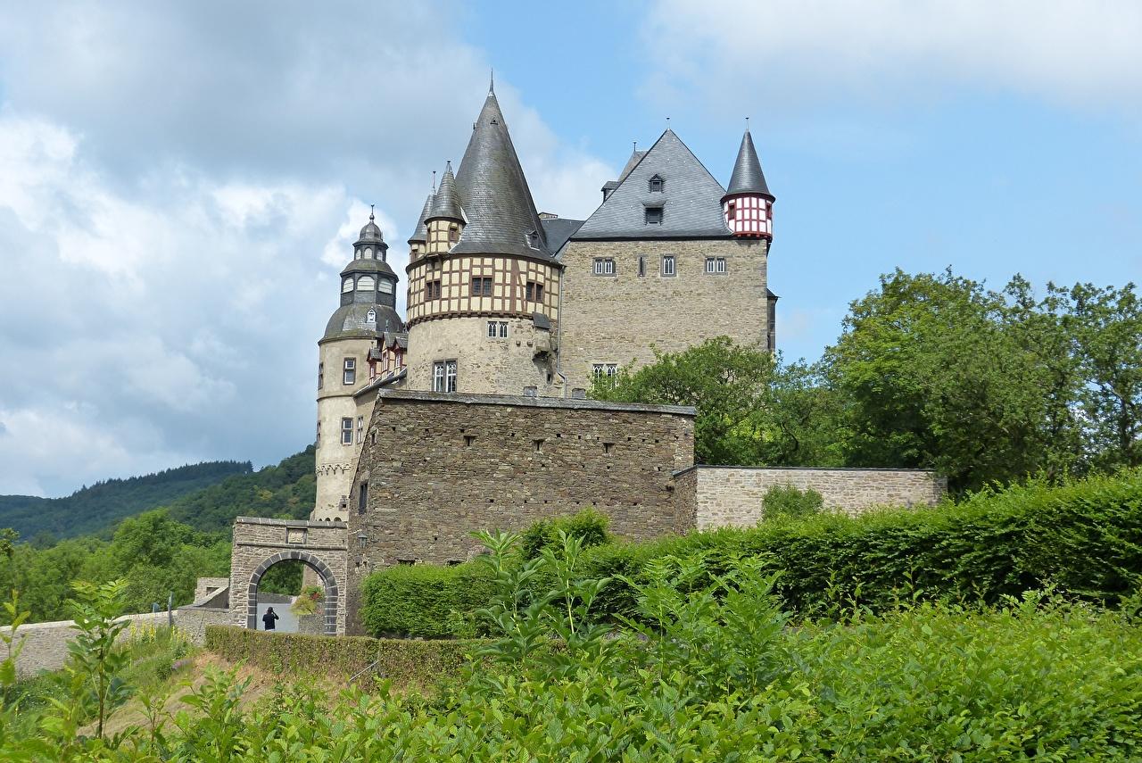 Fonds D Ecran Chateau Fort Allemagne Castle Buerresheim