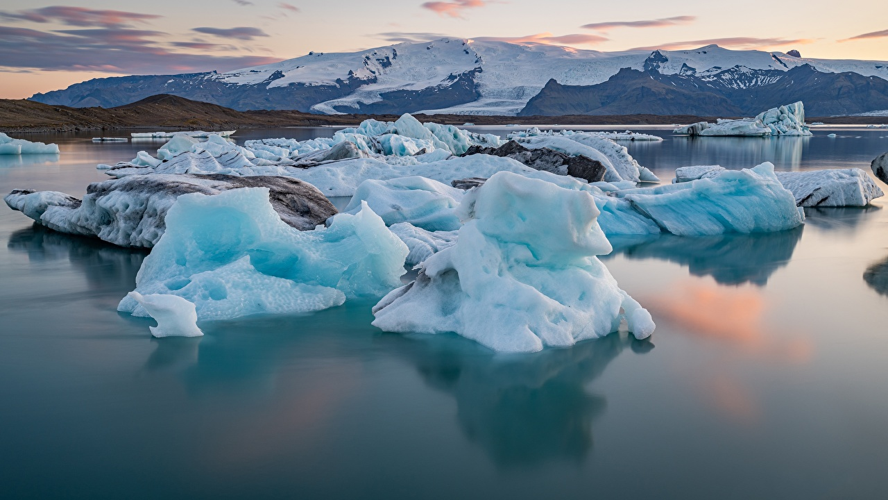 Wallpaper Iceland Ice Nature mountain Snow Water Mountains