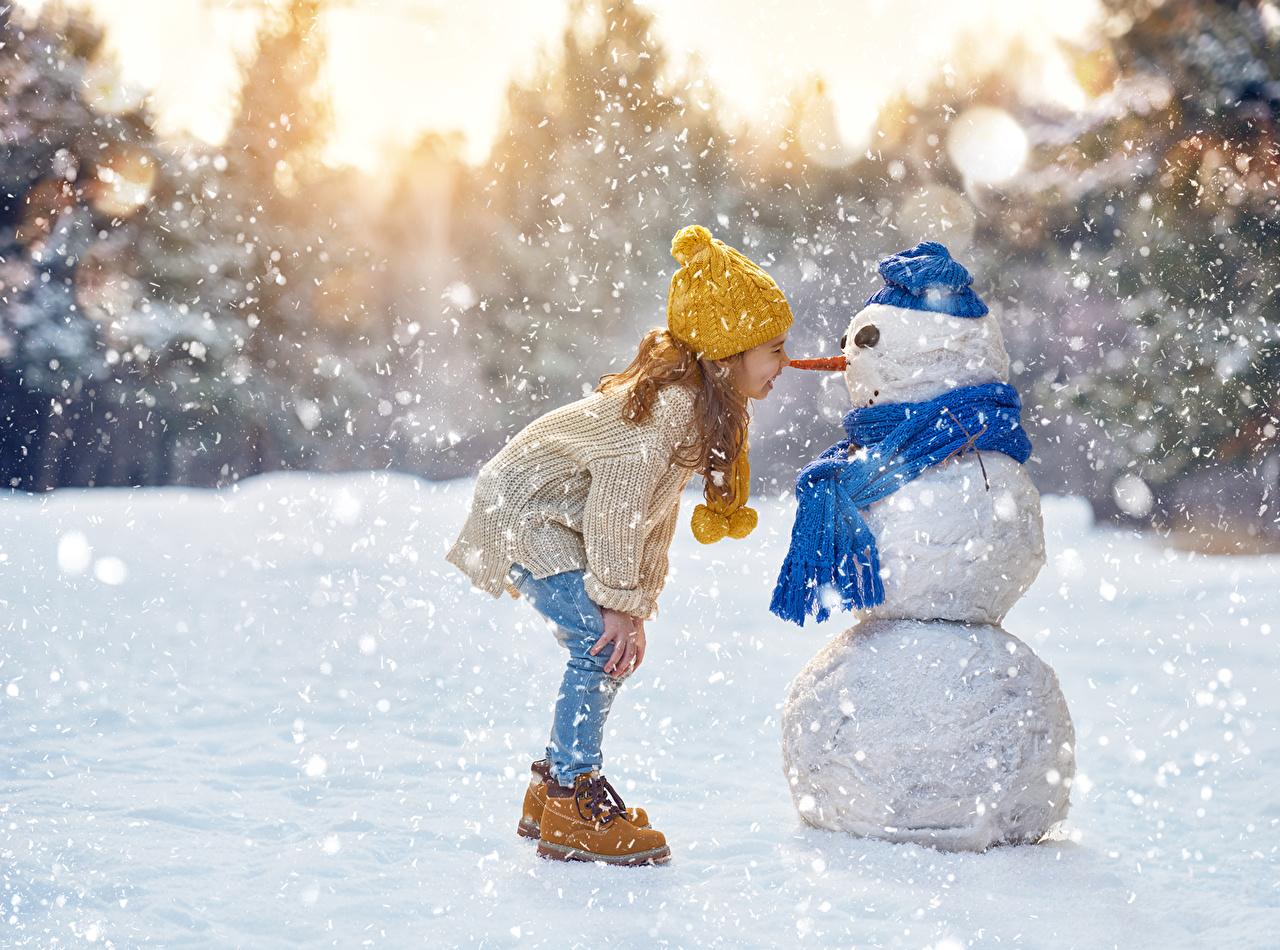 Картинки по запросу дети зимой