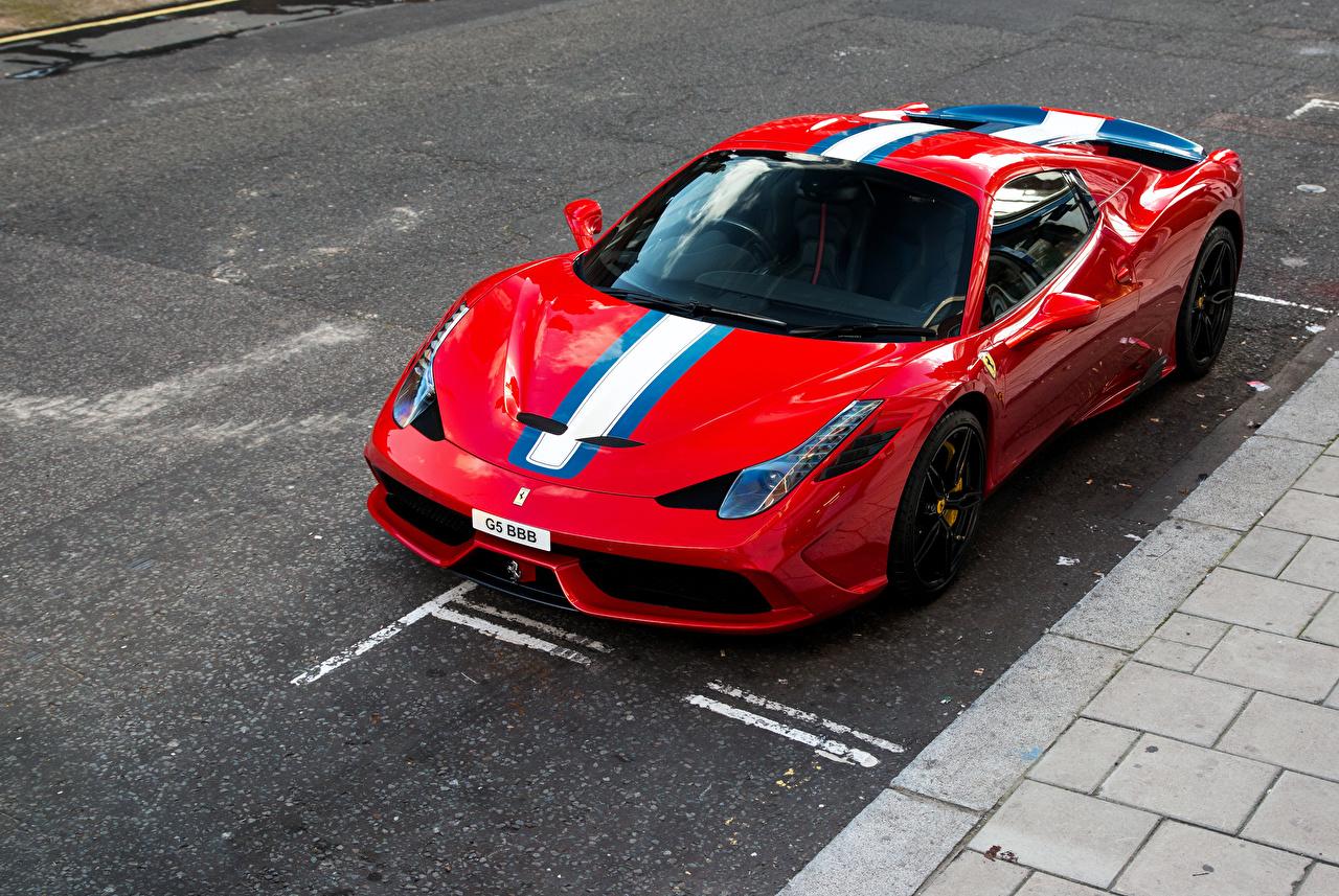 Picture automobile Tuning Ferrari 2014-15 458 Speciale A Pininfarina Red Metallic Cars auto