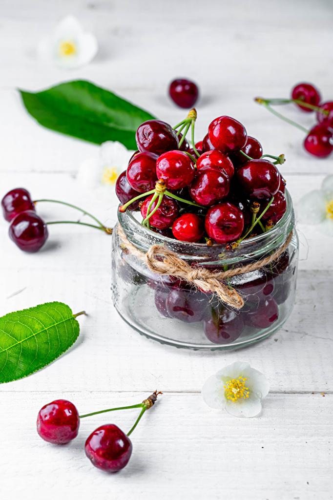 Wallpaper Jar Cherry Food  for Mobile phone