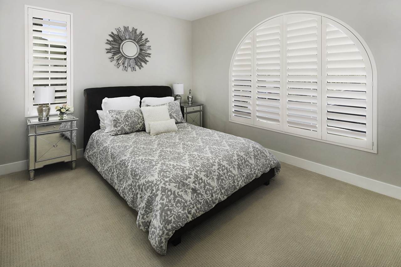 Photo Bedroom Interior Bed Pillows Design