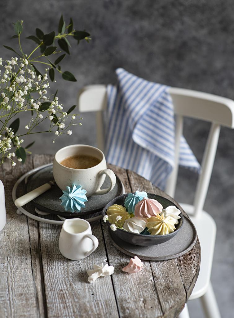 Bilder von Zefir Kaffee Die Sahne Cappuccino Tasse Lebensmittel Bretter  für Handy das Essen