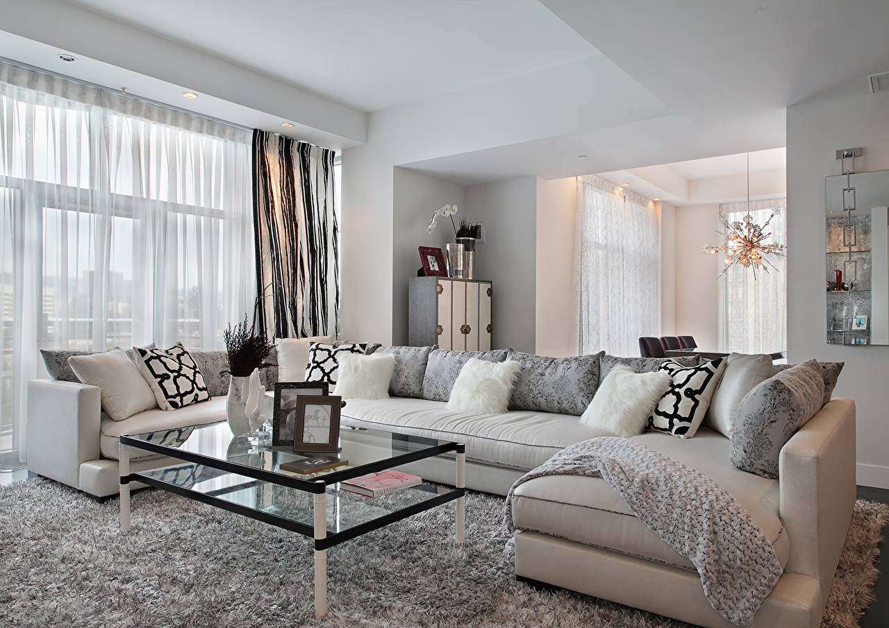 Bilder Von Wohnzimmer Innenarchitektur Sofa Tisch Kissen Design