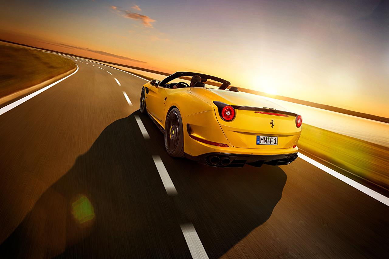Wallpaper Cars Ferrari 2015 Pininfarina Novitec Rosso California T