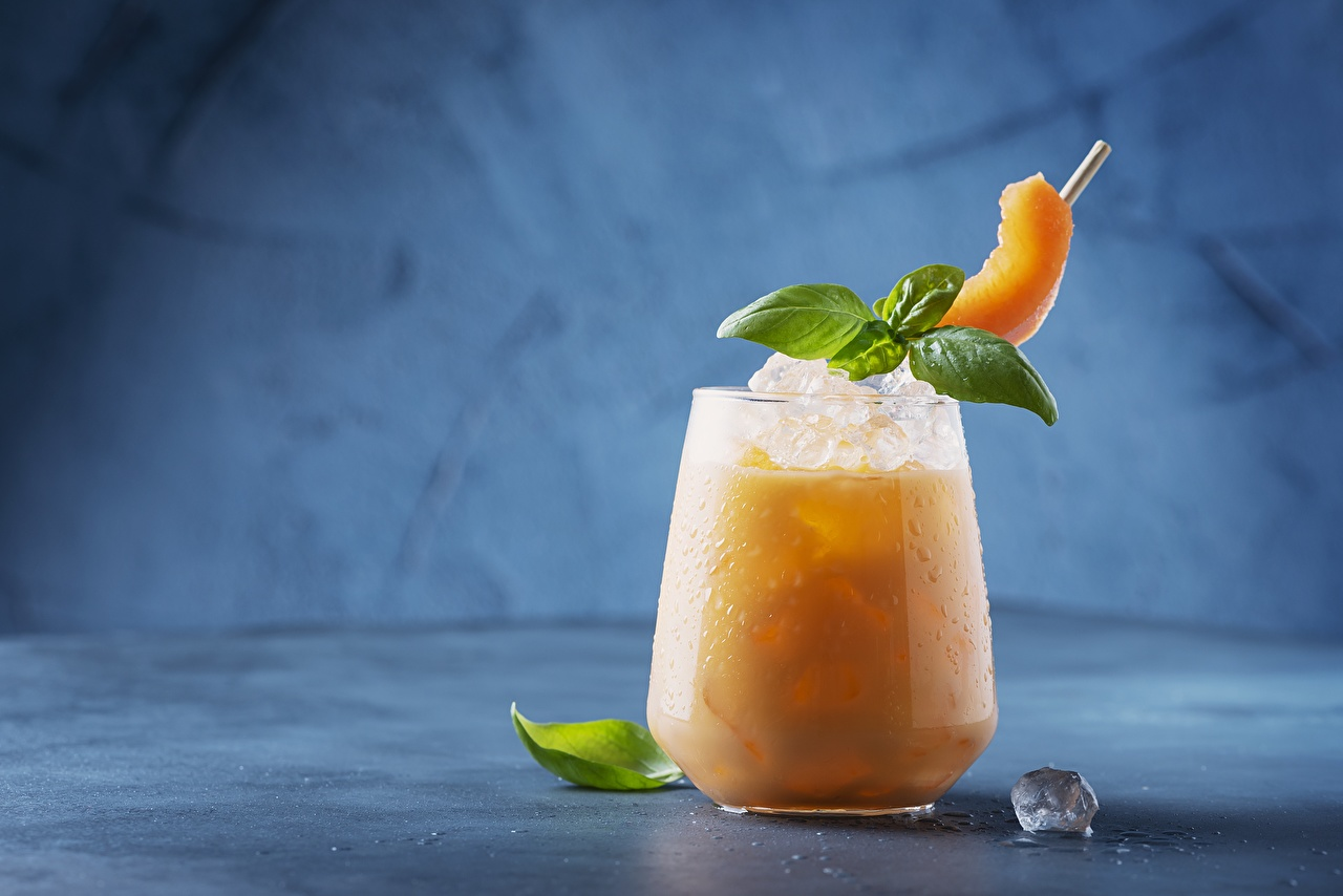 Photo Ice Melons Mentha Highball glass Food drink mint Drinks