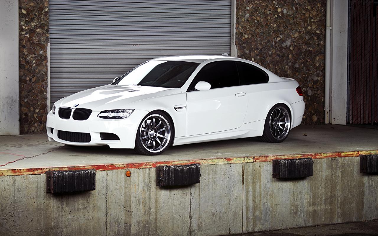 Photos BMW m3 White auto Cars automobile