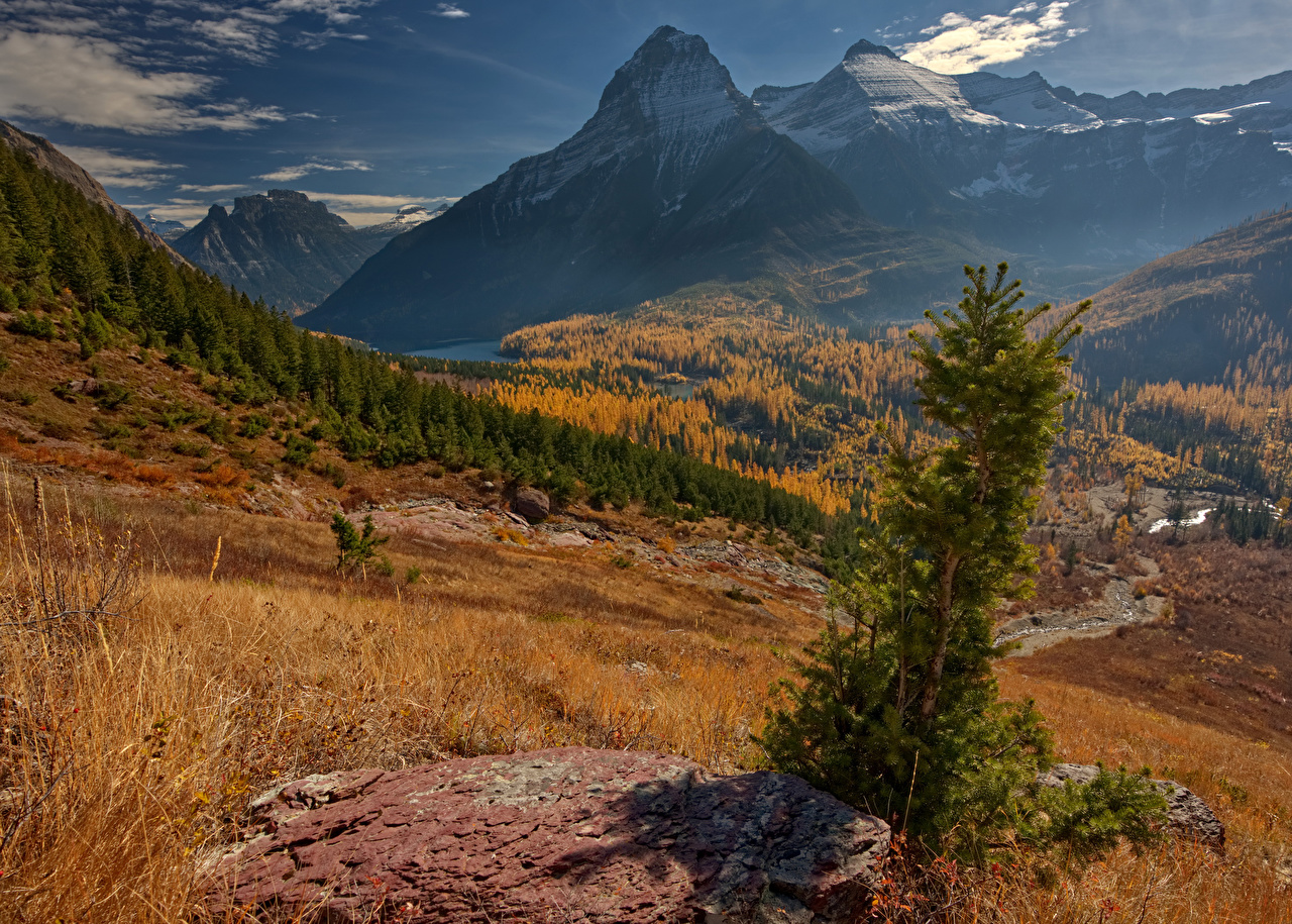 foto de Fonds d'ecran USA Automne Parc Montagnes Photographie de paysage ...