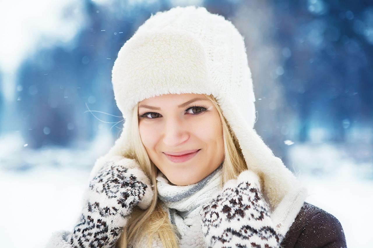 Fondos de pantalla de mujer invierno