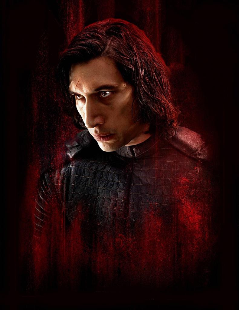 Wallpaper Star Wars The Last Jedi Men Kylo Ren Adam Driver Film