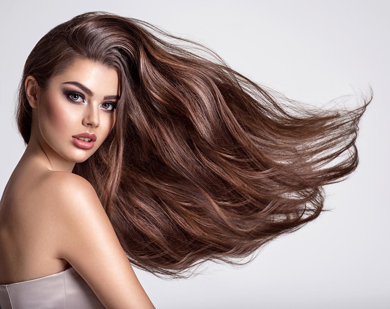 Haare frauen braune 50 Stilvolle