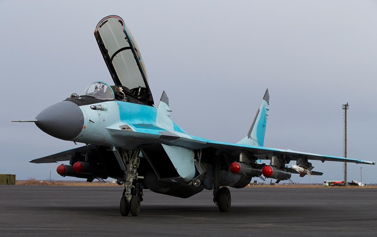 Foto's MiG-35 Jachtvliegtuig vliegtuig Russische Luchtvaart Vliegtuigen