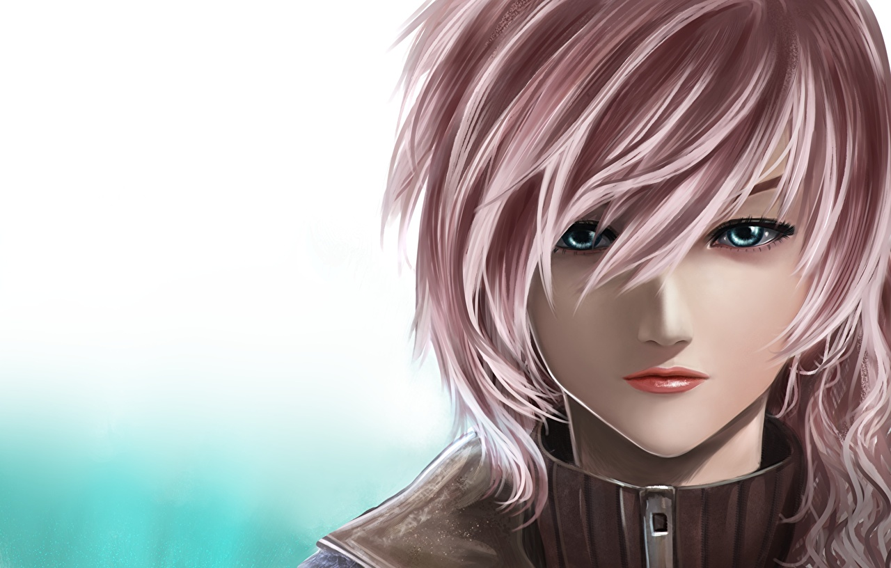 Wallpaper Games Final Fantasy Final Fantasy Xiii Face Hair
