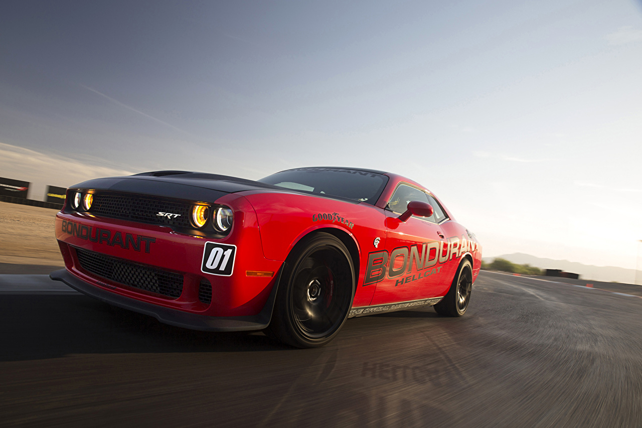 Picture Dodge Tuning Red auto Cars automobile