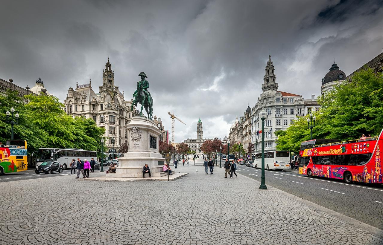 Fotos Porto Portugal Denkmal Stadtstraße Städte Straße