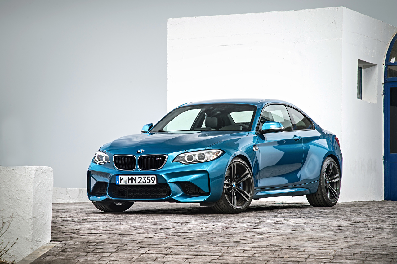 Pictures BMW F87 Light Blue auto Cars automobile