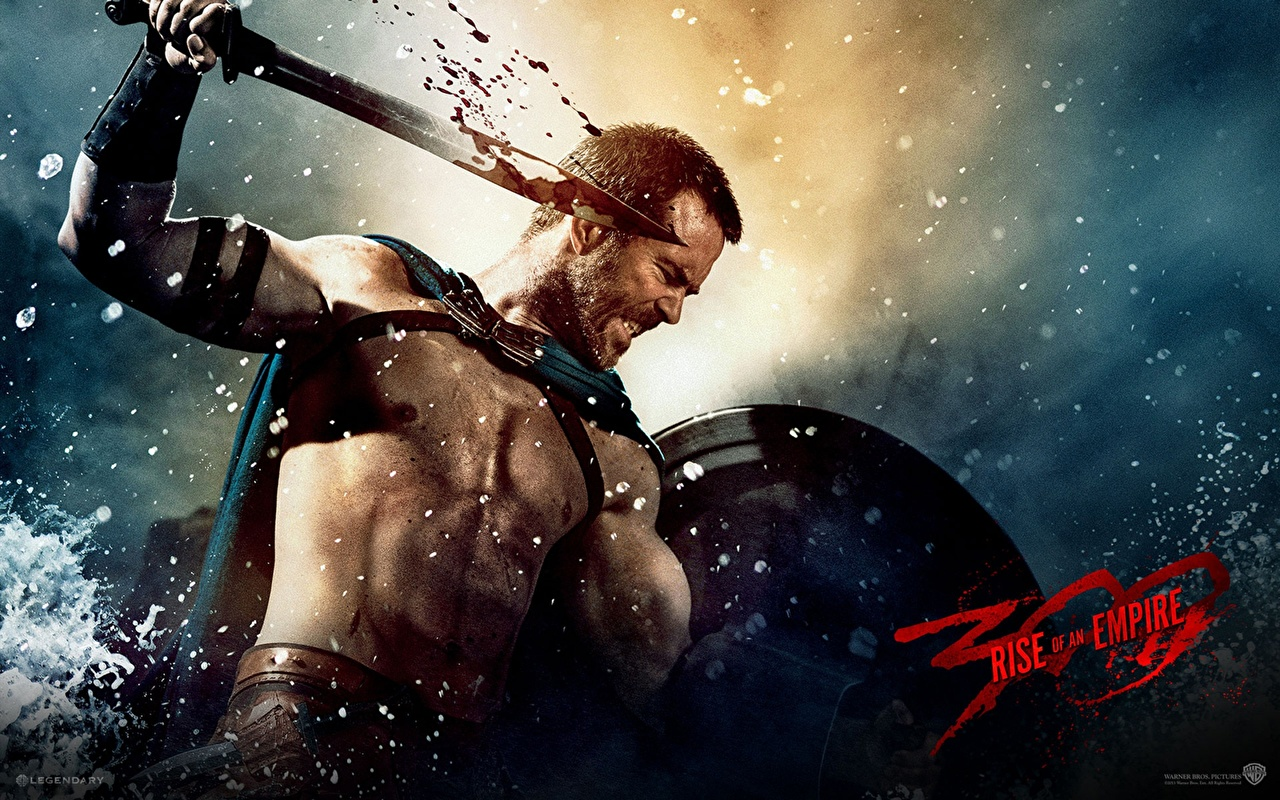 Desktop Wallpapers 300 - Movies Swords Shield Men warrior
