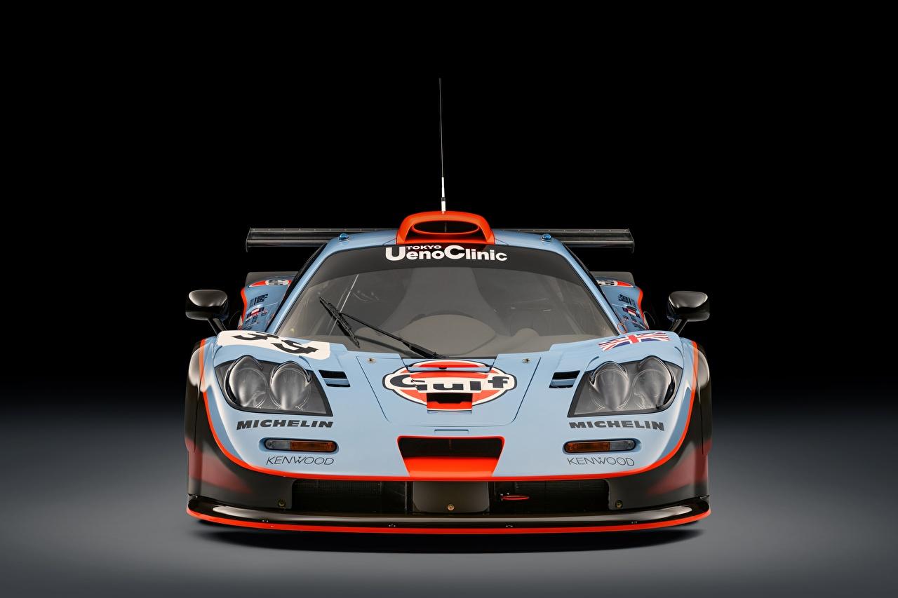 Picture McLaren F1, GTR long tail 25R, 24 Hours of Le Mans, 1993 Cars Front auto automobile