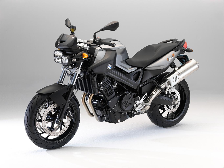 Desktop Hintergrundbilder BMW - Motorrad graue Motorräder Grau graues Motorrad