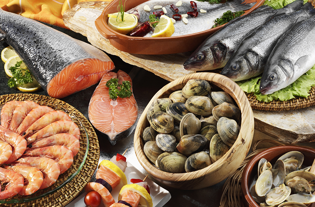 Picture Shells Shrimp Fish - Food Food Seafoods Caridea