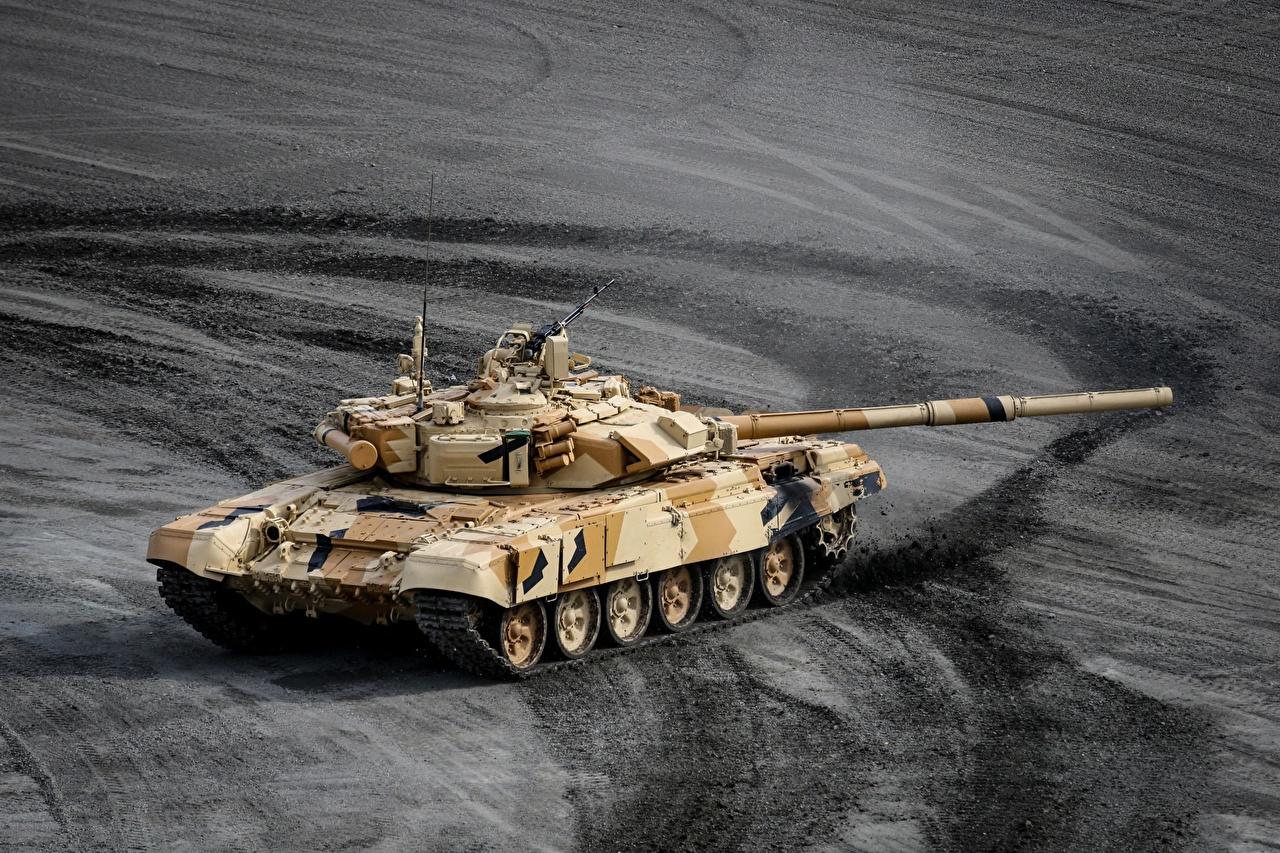 Foto T-90 Panzer russisches Militär Russische russischer Heer