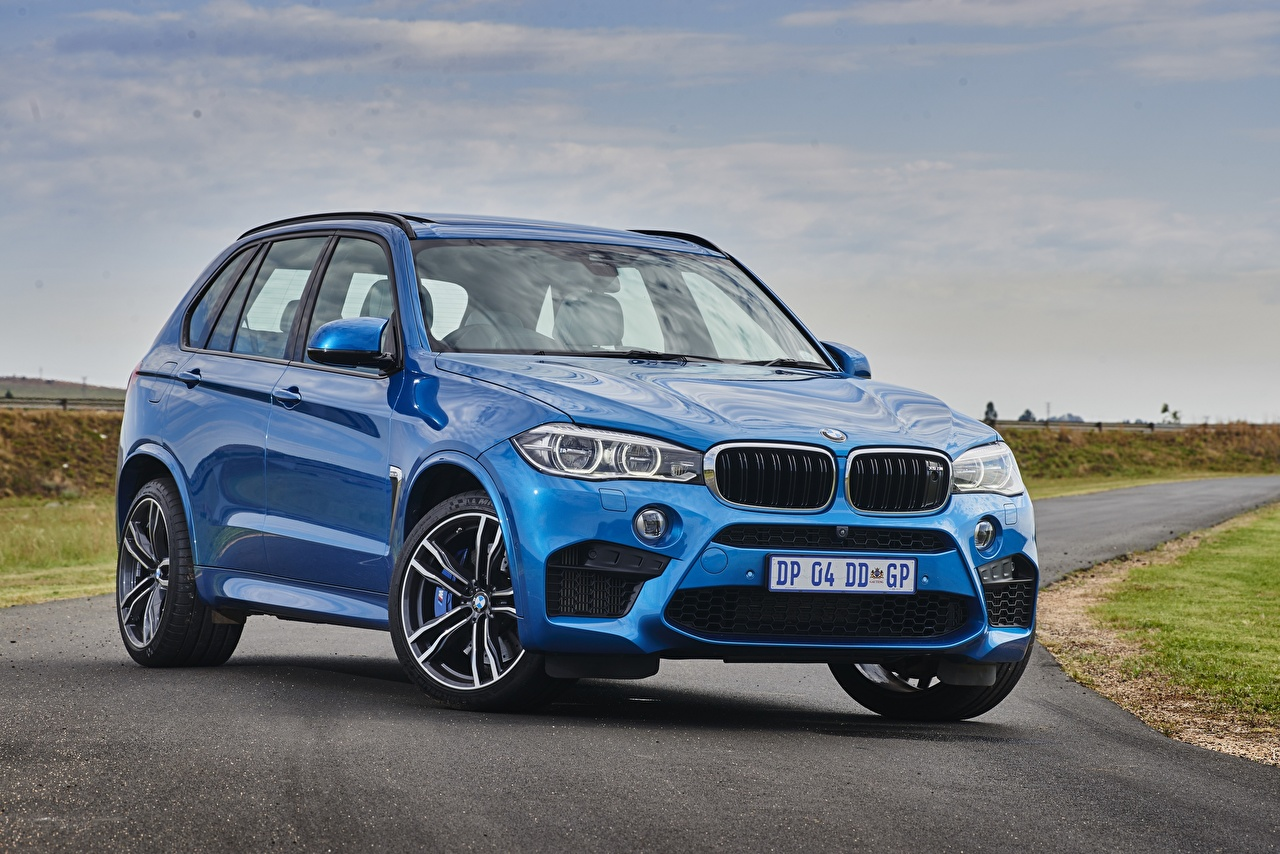 Images BMW CUV F85 Blue auto Crossover Cars automobile